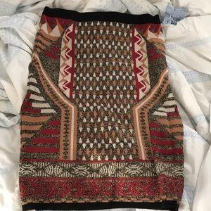 Lulus sweater midi skirt